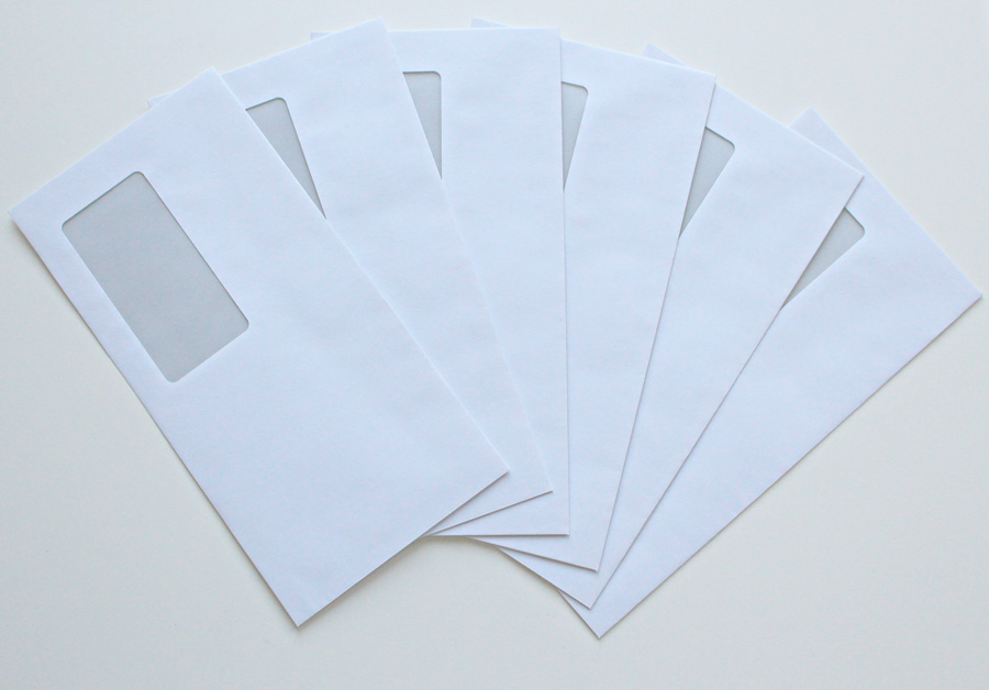 White Printable Envelopes For Business